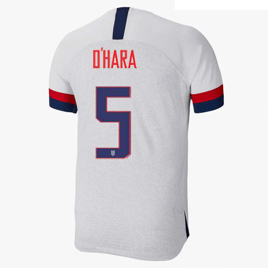 USA Home Kelley O'Hara 2019/20 Men's Stadium Soccer Jersey