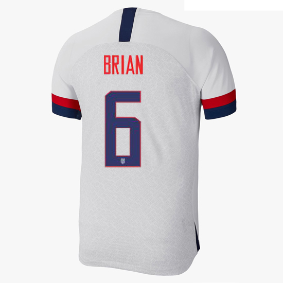 USA Home Morgan Brian 2019 Men's Stadium Soccer Jersey