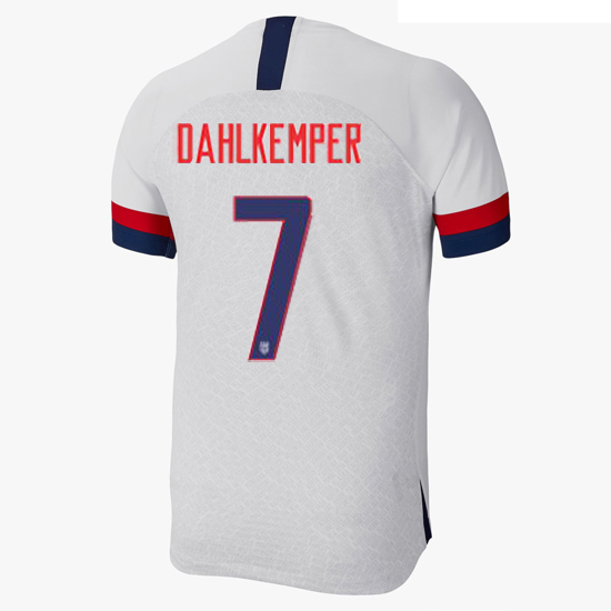 USA Home Abby Dahlkemper 19/20 Men's Stadium Soccer Jersey