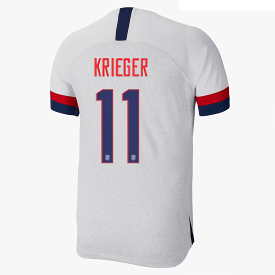 USA Home Ali Krieger 2019/2020 Men's Stadium Soccer Jersey