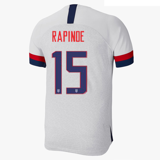 USA Home Megan Rapinoe 2019 Men's Stadium Soccer Jersey