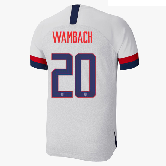 USA Home Abby Wambach 2019 Men's Stadium Soccer Jersey