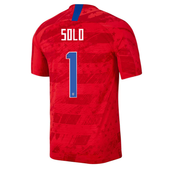 USA Away Hope Solo 2019/2020 Men's Stadium Soccer Jersey
