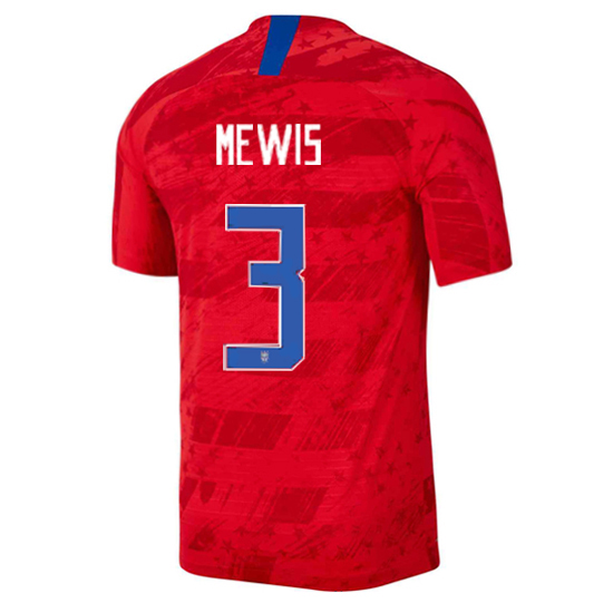 USA Away Samantha Mewis 2019 Men's Stadium Soccer Jersey