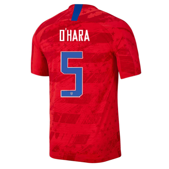 USA Away Kelley O'Hara 2019/2020 Men's Stadium Soccer Jersey