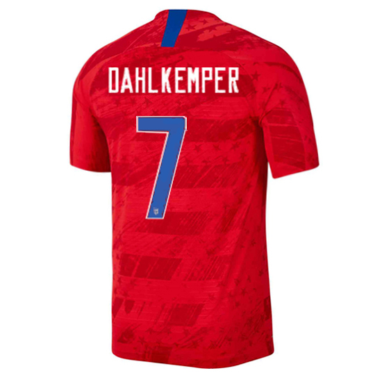 USA Away Abby Dahlkemper 2019 Men's Stadium Soccer Jersey