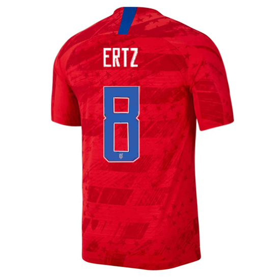 USA Away Julie Ertz 19/20 Men's Stadium Soccer Jersey