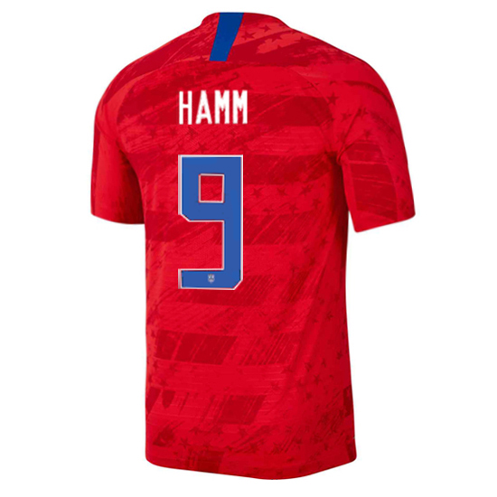 USA Away Mia Hamm 2019/20 Men's Stadium Soccer Jersey