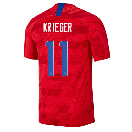USA Away Ali Krieger 19/20 Men's Stadium Soccer Jersey