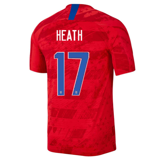 USA Away Tobin Heath 19/20 Men's Stadium Soccer Jersey