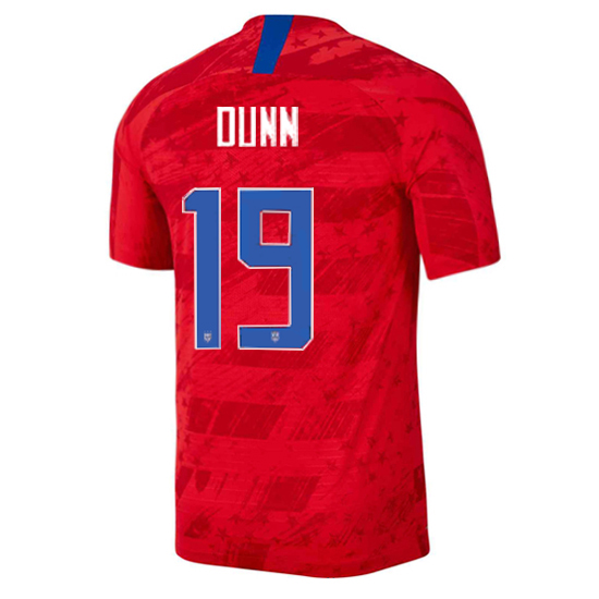 USA Away Crystal Dunn 2019/2020 Men's Stadium Soccer Jersey