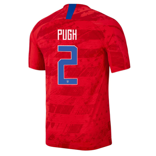 USA Away Mallory Pugh 19/20 Men's Stadium Soccer Jersey