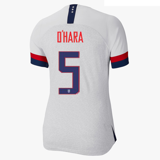 USA Home Kelley O'Hara 19/20 Women's Stadium Jersey 4 Star