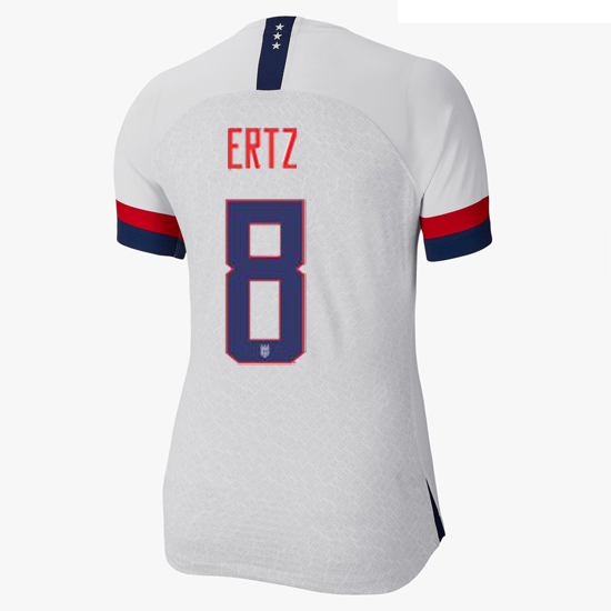 USA Home Julie Ertz 2019 Women's Stadium Jersey 4-Star