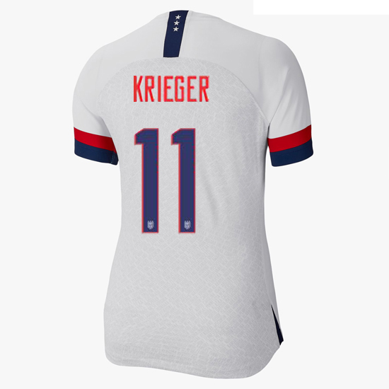 USA Home Ali Krieger 2019 Women's Stadium Jersey 4-Star