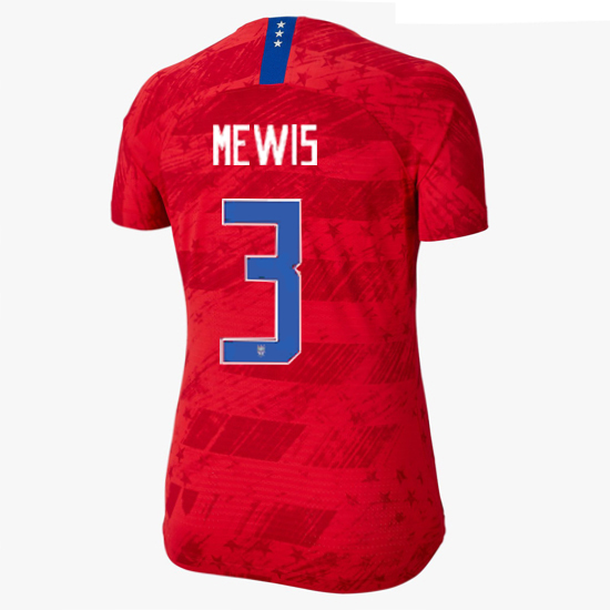 USA Away Samantha Mewis 2019/2020 Women's Stadium Jersey 4-Star