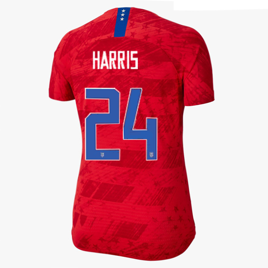 USA Away Ashlyn Harris 19/20 Women's Stadium Jersey 4 Star
