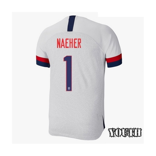 USA Home Alyssa Naeher 19/20 Youth Stadium Soccer Jersey