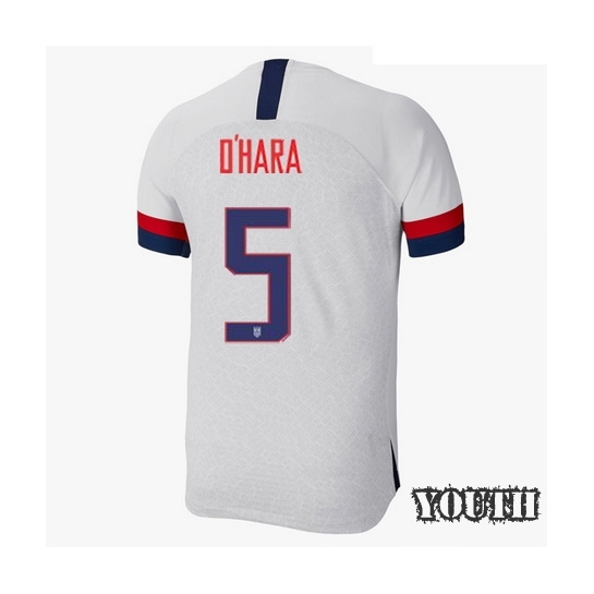 USA Home Kelley O'Hara 2019/20 Youth Stadium Soccer Jersey