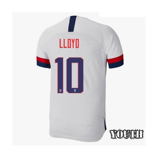 USA Home Carli Lloyd 19/20 Youth Stadium Soccer Jersey