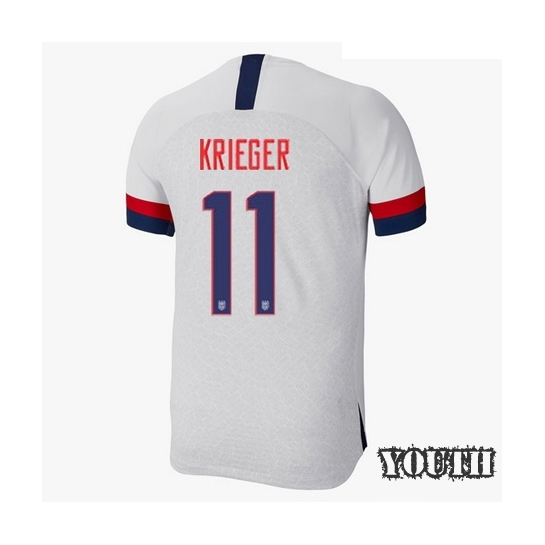 USA Home Ali Krieger 2019/2020 Youth Stadium Soccer Jersey