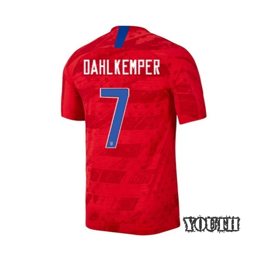 USA Away Abby Dahlkemper 2019 Youth Stadium Soccer Jersey