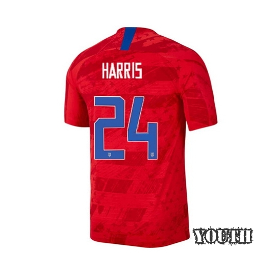 USA Away Ashlyn Harris 2019/20 Youth Stadium Soccer Jersey