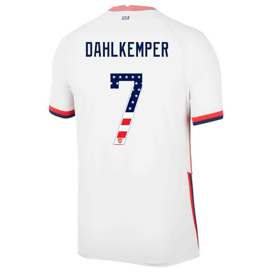 Home Abby Dahlkemper 20/21 Men's Stadium Jersey Independence Day