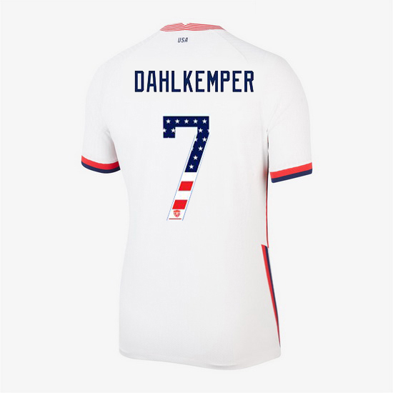 White Abby Dahlkemper 2020 Women's Stadium Jersey Independence Day