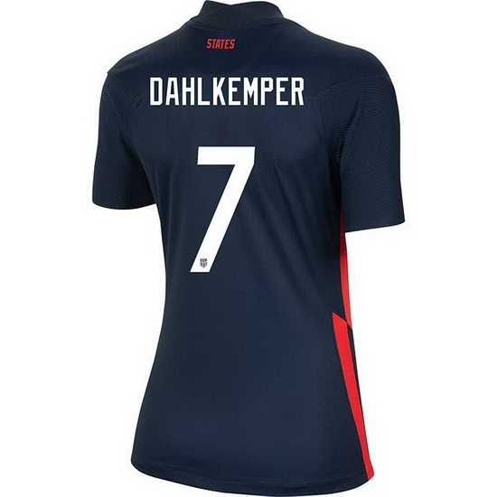 USA Away Abby Dahlkemper 2020/21 Women's Stadium Soccer Jersey