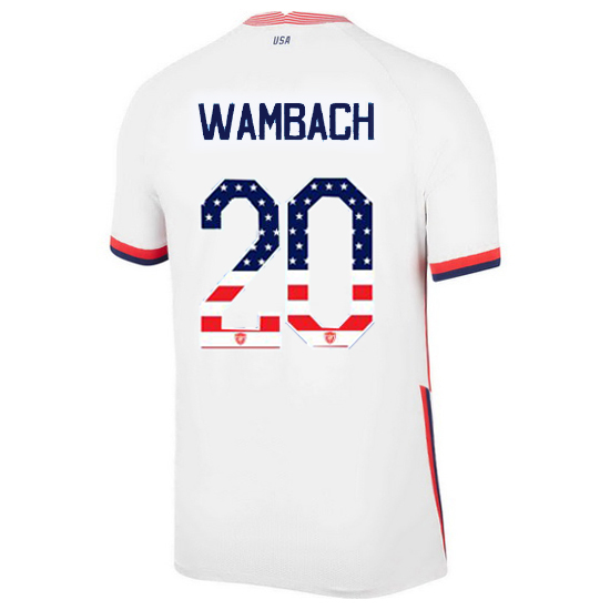 Home Abby Wambach 20/21 Men's Stadium Jersey Independence Day