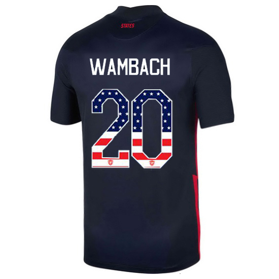 Away Abby Wambach 20/21 Men's Stadium Jersey Independence Day