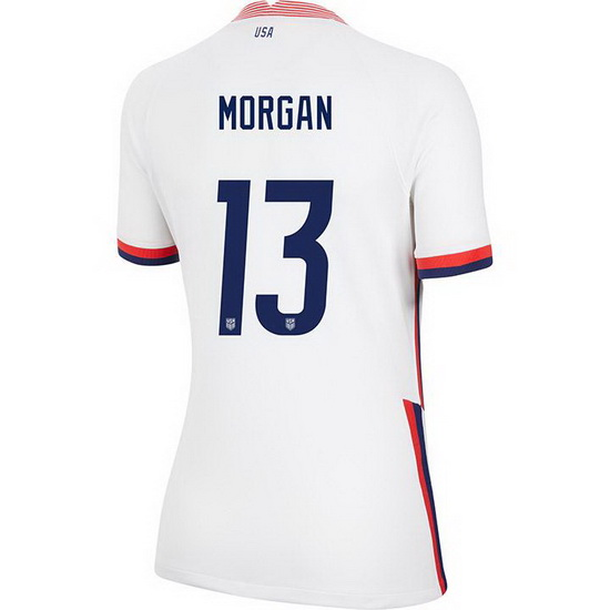 USA Home Alex Morgan 2020/21 Women's Stadium Soccer Jersey