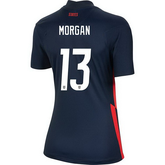 USA Away Alex Morgan 2020/21 Women's Stadium Soccer Jersey