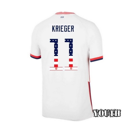 Home Ali Krieger 2020/21 Youth Stadium Jersey Independence Day