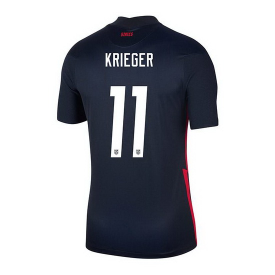 USA Navy Ali Krieger 2020/2021 Youth Stadium Soccer Jersey
