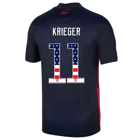 Away Ali Krieger 20/21 Men's Stadium Jersey Independence Day