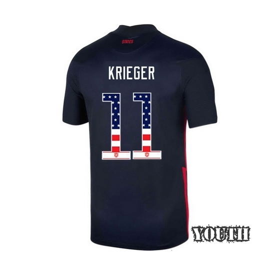 Away Ali Krieger 2020/21 Youth Stadium Jersey Independence Day