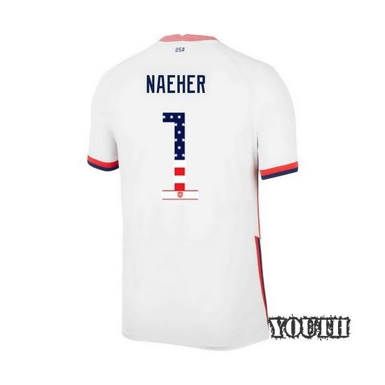 Home Alyssa Naeher 2020/21 Youth Stadium Jersey Independence Day