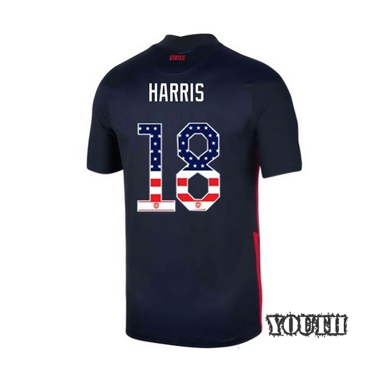 Away Ashlyn Harris 2020/21 Youth Stadium Jersey Independence Day