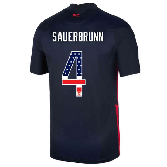 Away Becky Sauerbrunn 20/21 Men's Stadium Jersey Independence Day