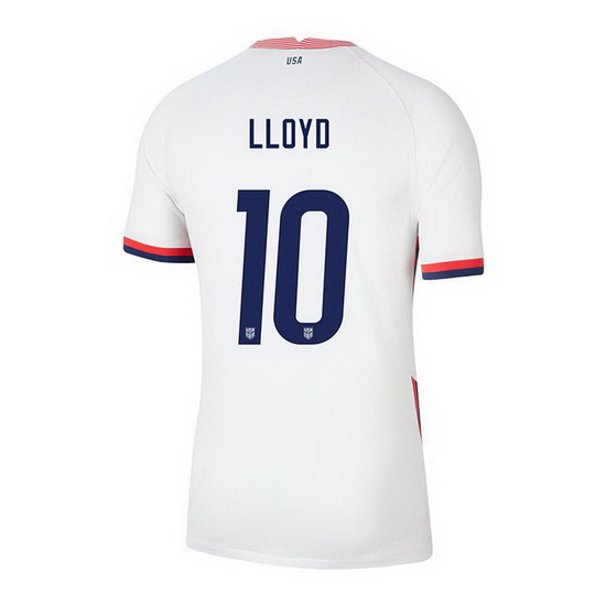 USA White Carli Lloyd 2020/2021 Youth Stadium Soccer Jersey