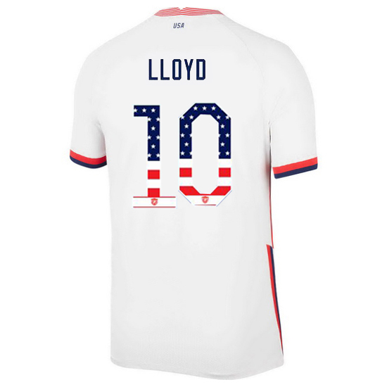 Home Carli Lloyd 20/21 Men's Stadium Jersey Independence Day