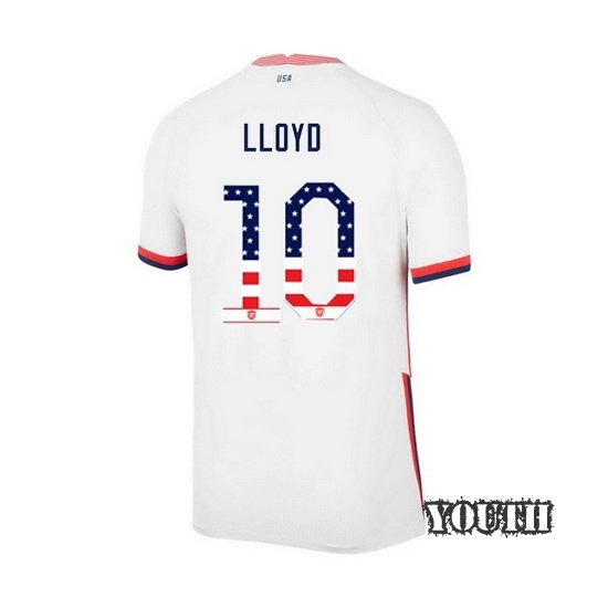 Home Carli Lloyd 2020/21 Youth Stadium Jersey Independence Day