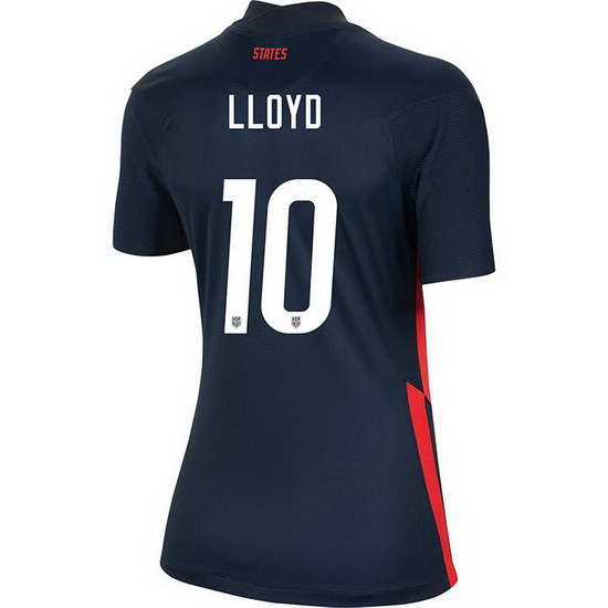 USA Away Carli Lloyd 2020/21 Women's Stadium Soccer Jersey