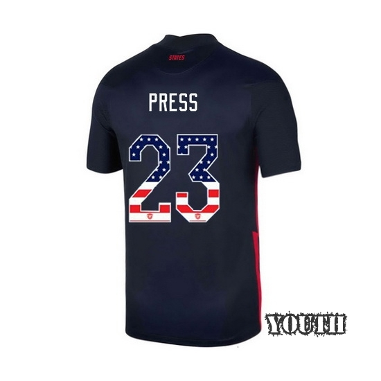 Away Christen Press 2020/21 Youth Stadium Jersey Independence Day