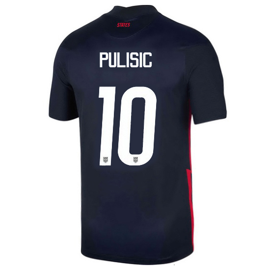 USA Navy Christian Pulisic 2020 Men's Stadium Soccer Jersey