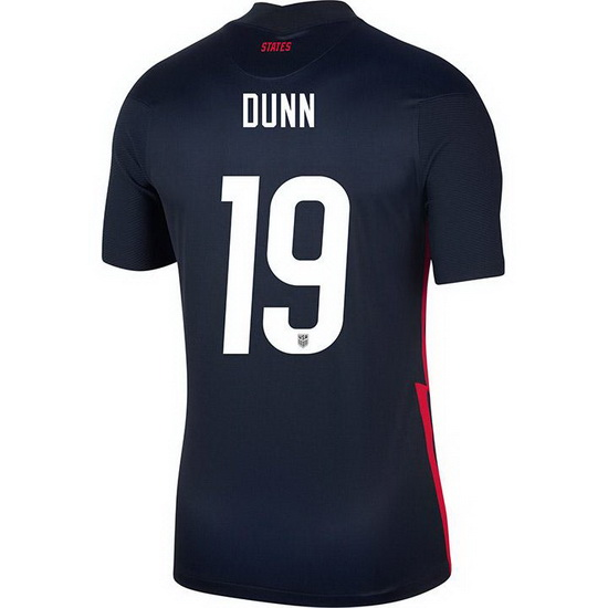 USA Navy Crystal Dunn 2020 Men's Stadium Soccer Jersey