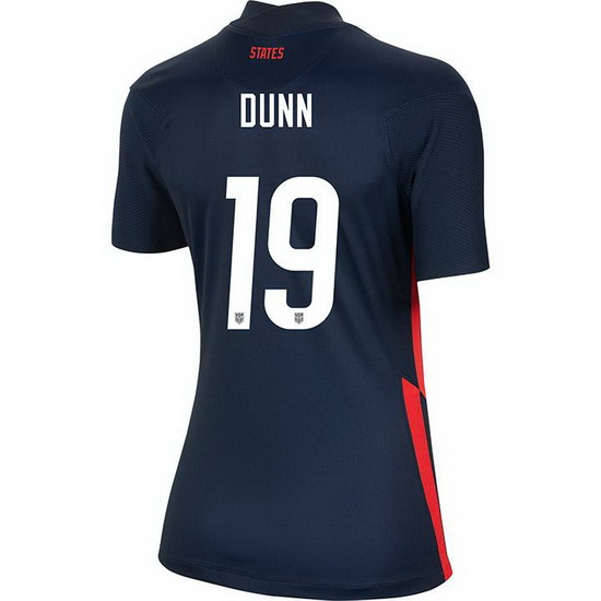 USA Away Crystal Dunn 2020/21 Women's Stadium Soccer Jersey