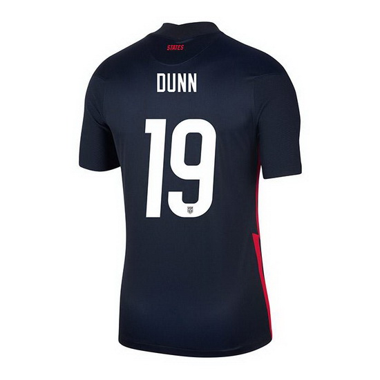 USA Navy Crystal Dunn 2020/2021 Youth Stadium Soccer Jersey